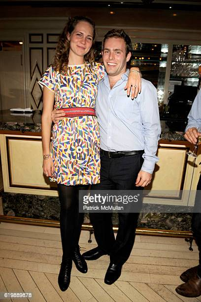 Molly Lowe and Ryan Sullivan attend INTERVIEW Party to Celebrate BRIGID BERLIN at BERGDORF GOODMAN at BG on October 1 2008 in New York City