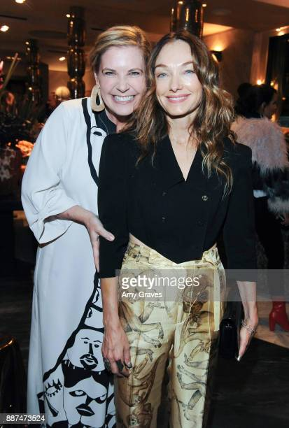 Molly Luetkmeier and Kelly Wearstler attend Kelly Wearstler hosts 'The Authentics' book signing launch party for Melanie Acevedo and Dara Caponigro...