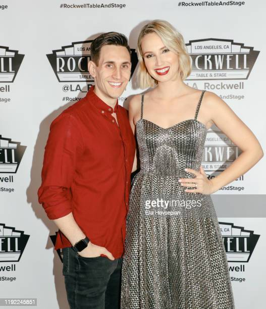 Molly McCook and John Krause at Rockwell Table and Stage on December 05 2019 in Los Angeles California
