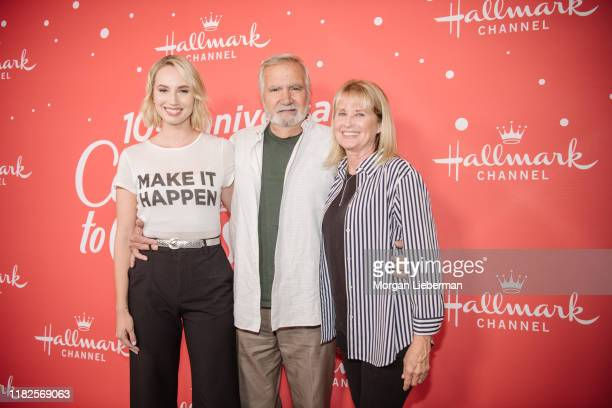 Molly McCook and John McCook arrive at the Los Angeles special screening of Hallmark Channel's A Christmas Love Story at Montage Beverly Hills on...