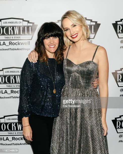Molly McCook and Rachael Lawrence at Rockwell Table and Stage on December 05 2019 in Los Angeles California