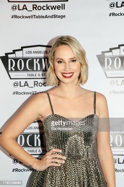 Molly McCook at Rockwell Table and Stage on December 05 2019 in Los Angeles California