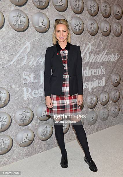Molly McCook attends the Brooks Brothers and St Jude Children's Research Hospital Annual Holiday Celebration at The West Hollywood Edition on...