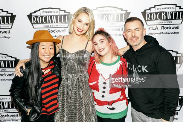 Molly McCook Sherry Cola Emma Hunton and Bradley Bredeweg at Rockwell Table and Stage on December 05 2019 in Los Angeles California