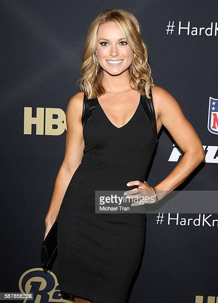 Molly McGrath arrives at the Los Angeles premiere of HBO and NFL Films Hard Knocks Training Camp with the Los Angeles Rams held at Regal LA Live...
