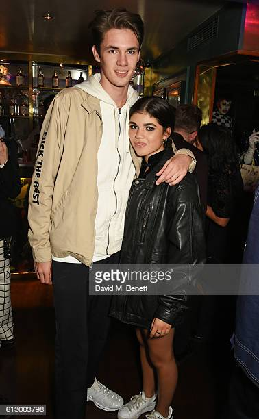 Molly Moorish attends the Another Man A/W launch event hosted by Harry Styles Alister Mackie and Kris Van Assche at Albert's Club on October 6 2016...
