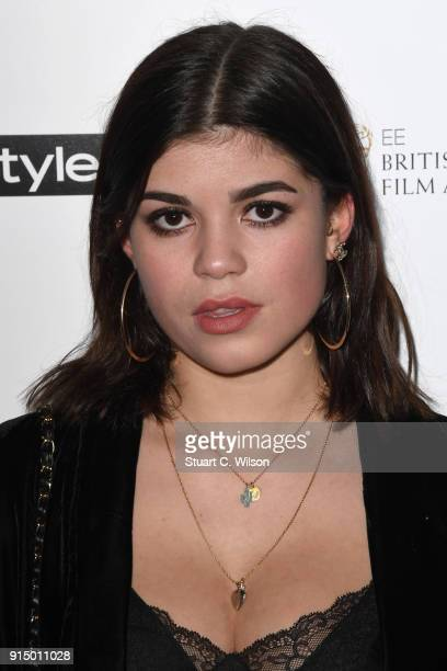 Molly Moorish attends the EE InStyle Party held at Granary Square Brasserie on February 6 2018 in London England