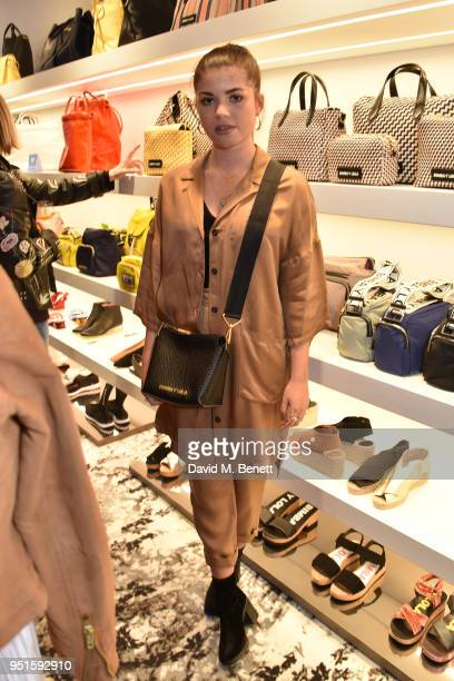 Molly Moorish attends the launch of the Bimba Y Lola Love Hattie Stewart collaborative collection on April 26 2018 in London England