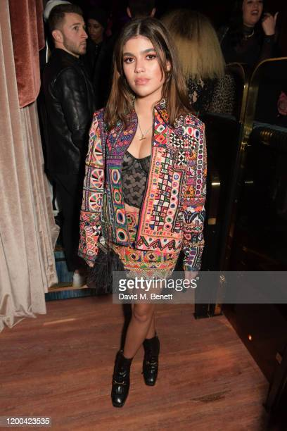 Molly Moorish attends the NME Awards after party in association with Copper Dog at The Standard on February 12 2020 in London England