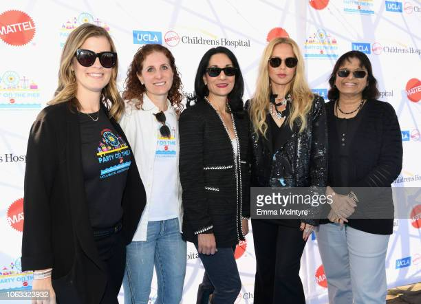 Molly Moursi Hillary Milken Johnese Spisso MPA Rachel Zoe and Sherin U Devaskar MD attend the UCLA Mattel Children's Hospital's 19th Annual Party on...