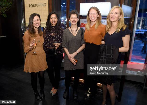 Molly O'Keefe Jennifer Westfeldt and guests attend the IWC Tribeca Film Festival Filmmaker Award Celebration on April 16 2018 in New York City
