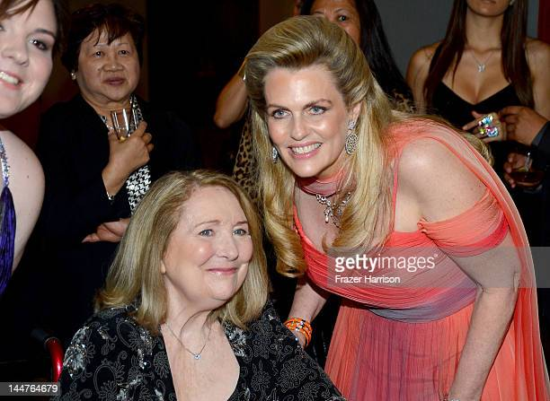 Molly O'Neill Teri Garr and Nancy Davis arrive at the 19th Annual Race to Erase MS held at the Hyatt Regency Century Plaza on May 18 2012 in Century...