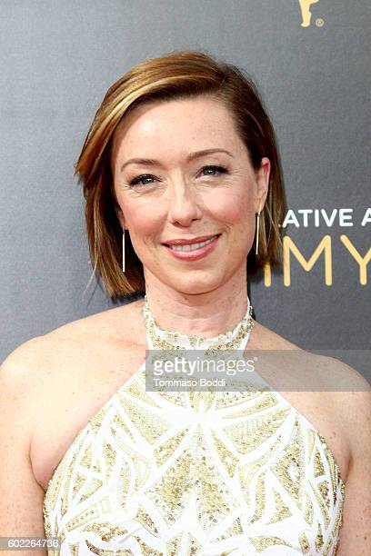 Molly Parker attends the 2016 Creative Arts Emmy Awards held at Microsoft Theater on September 10 2016 in Los Angeles California