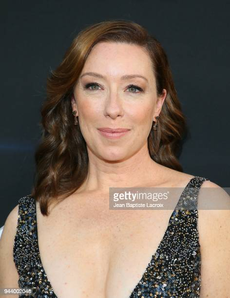 Molly Parker attends the premiere of Netflix's 'Lost In Space' Season 1 on April 9 2018 in Los Angeles California