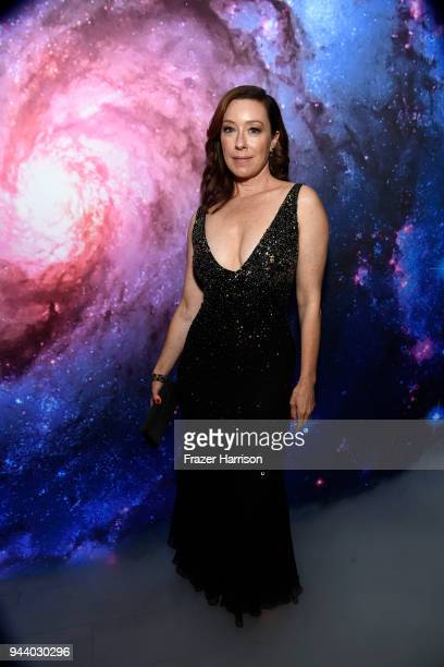 Molly Parker attends the Premiere Of Netflix's 'Lost In Space' Season 1 After Party at Le Jardin LA on April 9 2018 in Los Angeles California