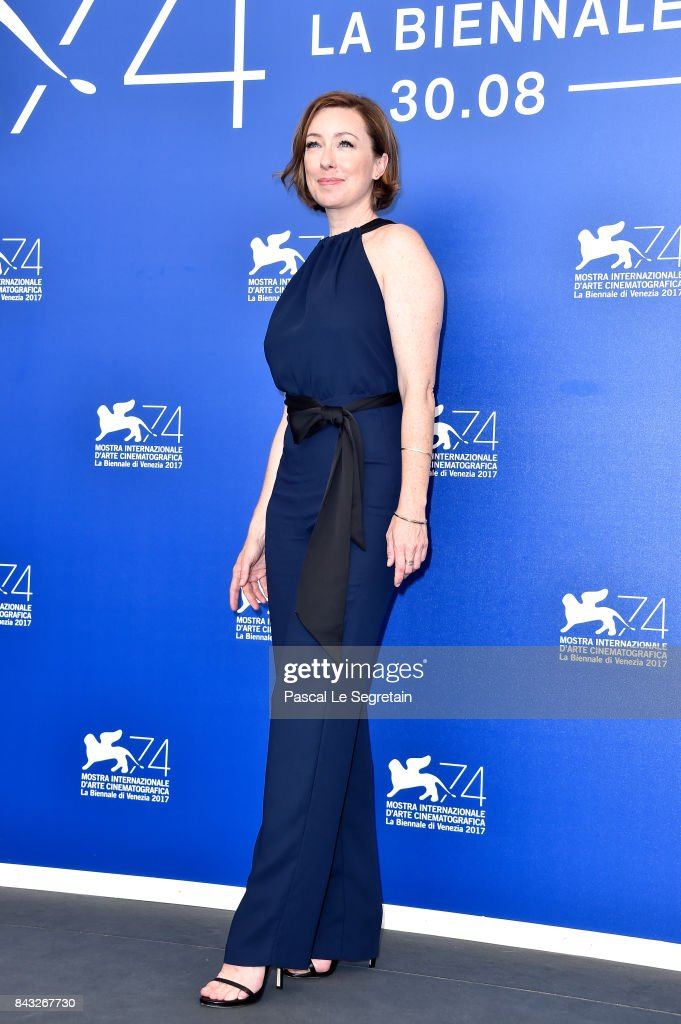 Molly Parker attends the 'Wormwood' photocall during the 74th Venice Film Festival at Sala Casino on September 6, 2017 in Venice, Italy.