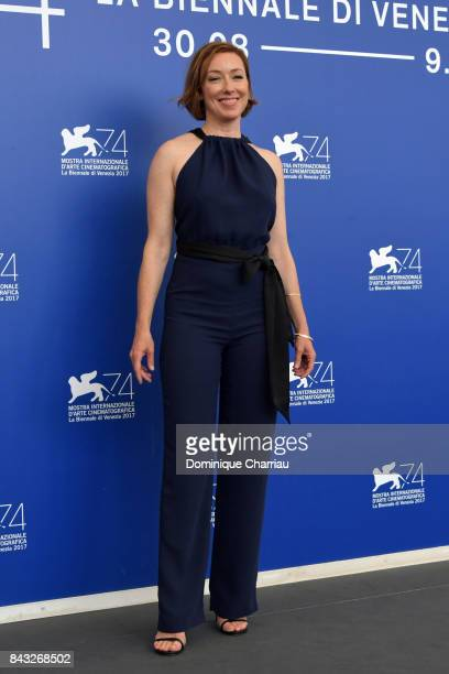 Molly Parker attends the 'Wormwood' photocall during the 74th Venice Film Festival at Sala Casino on September 6 2017 in Venice Italy