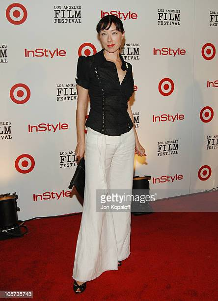 Molly Parker during 2005 Spirit of Independence Awards Ceremony Arrivals at Westwood in Westwood California United States