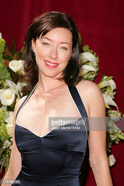 Molly Parker during 57th Annual Primetime Emmy Awards Arrivals at The Shrine in Los Angeles California United States