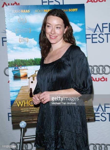 Molly Parker during AFI Festival 2006 Premiere of 'Who Loves The Sun' at AFI Festival Village in Los Angeles California United States