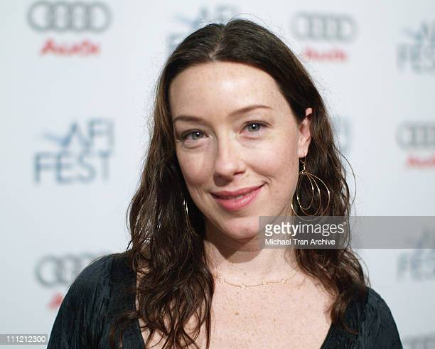 Molly Parker during AFI Festival 2006 Premiere of Who Loves The Sun at AFI Festival Village in Los Angeles California United States