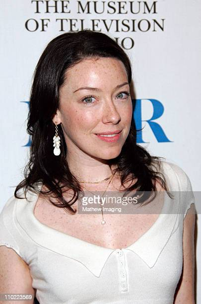 Molly Parker during 'Deadwood' at The 22nd Annual William S Paley Television Festival at The Directors Guild of America in Hollywood California...