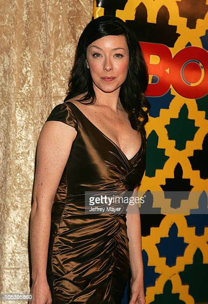 Molly Parker during HBO Post Award Reception Celebrating The 62nd Annual Golden Globe Awards Arrivals at Griff's Restaurant in Beverly Hills...