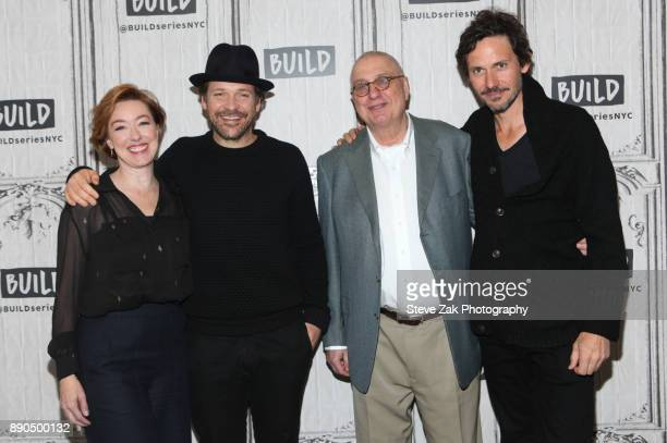 Molly Parker Peter Sarsgaard Errol Morris and Christian Camargo attend Build Series to discuss Wormwood at Build Studio on December 11 2017 in New...