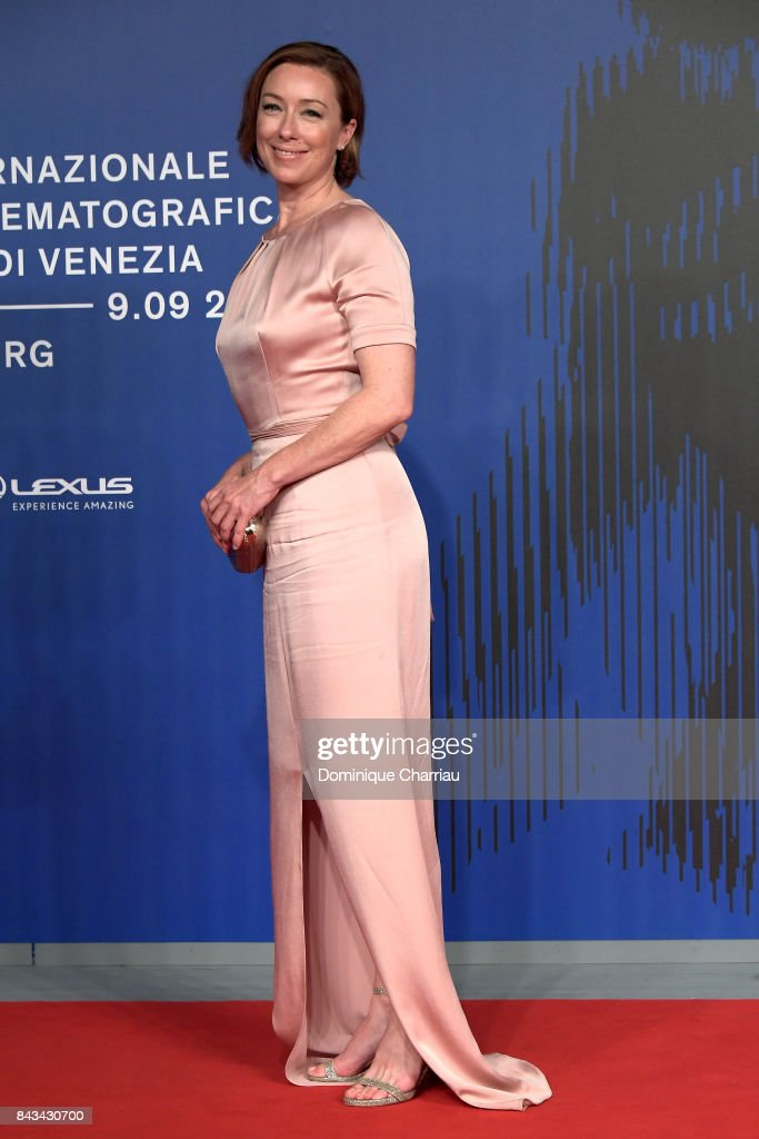 Molly Parker walks the red carpet ahead of the 'Wormwood' screening during the 74th Venice Film Festival at Sala Giardino on September 6, 2017 in Venice, Italy.