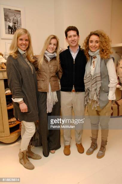 Molly Peters Ashley Donohue Eric Eckelmyer and Valia Validi attend BRUNELLO CUCINELLI Celebrates the Opening of the Madison Avenue Boutique in...