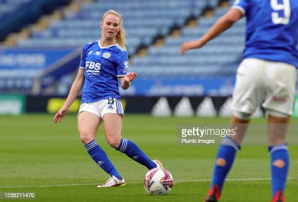 Molly Pike of Leicester City Women during the Barclays FA Women's Super League match between Leicester City Women and Manchester United Women at King...