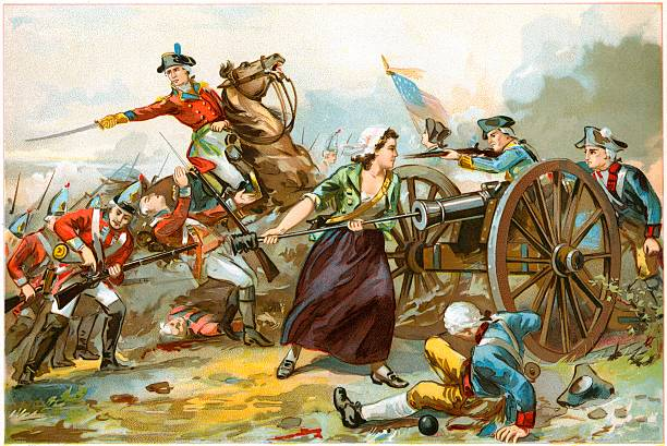 molly pitcher american revolutionary war pictures getty images