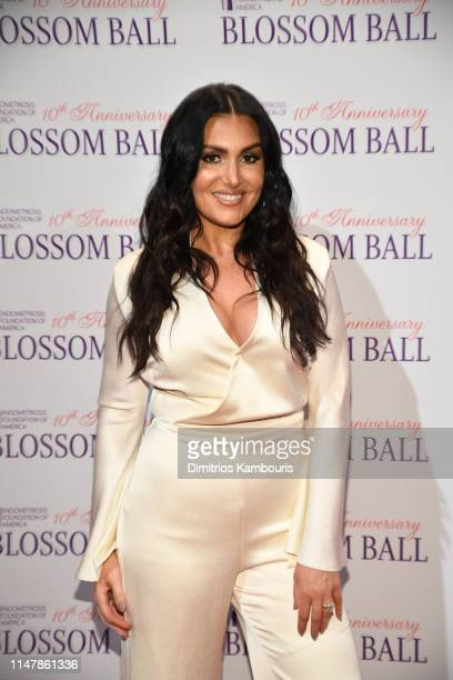 Molly Qerim Rose attends Endometriosis Foundation Of America's 10th Annual Blossom Ball on May 08 2019 at Cipriani Wall Street in New York City