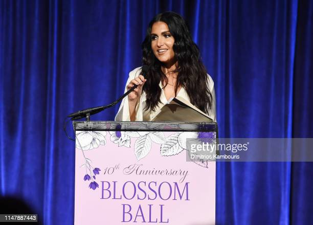 Molly Qerim Rose speaks onstage during Endometriosis Foundation Of America's 10th Annual Blossom Ball on May 08 2019 at Cipriani Wall Street in New...