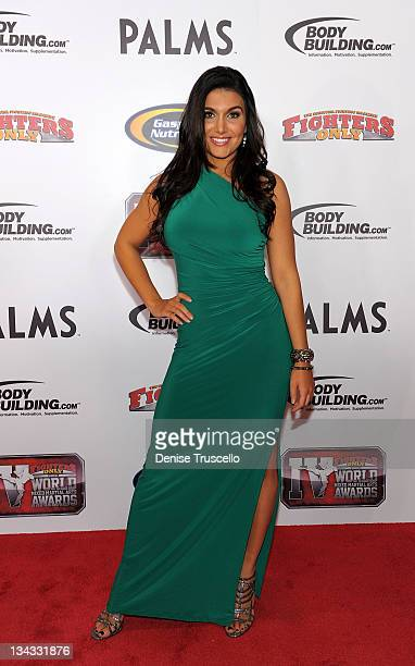 Molly Qerin arrives at the 2011 Fighters Only World Mixed Martial Arts Awards on November 30 2011 in Las Vegas Nevada