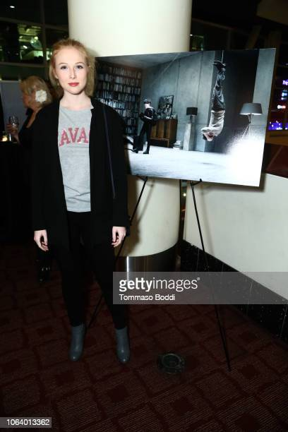 Molly Quinn at a Social Influencer Special Screening of Columbia Pictures' 'The Girl In The Spider's Web' held at ArcLight Hollywood on November 05...