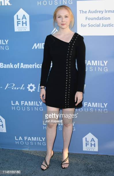 Molly Quinn attends LA Family Housing Annual LAFH Awards And Fundraiser Celebration at The Lot on April 25 2019 in West Hollywood California