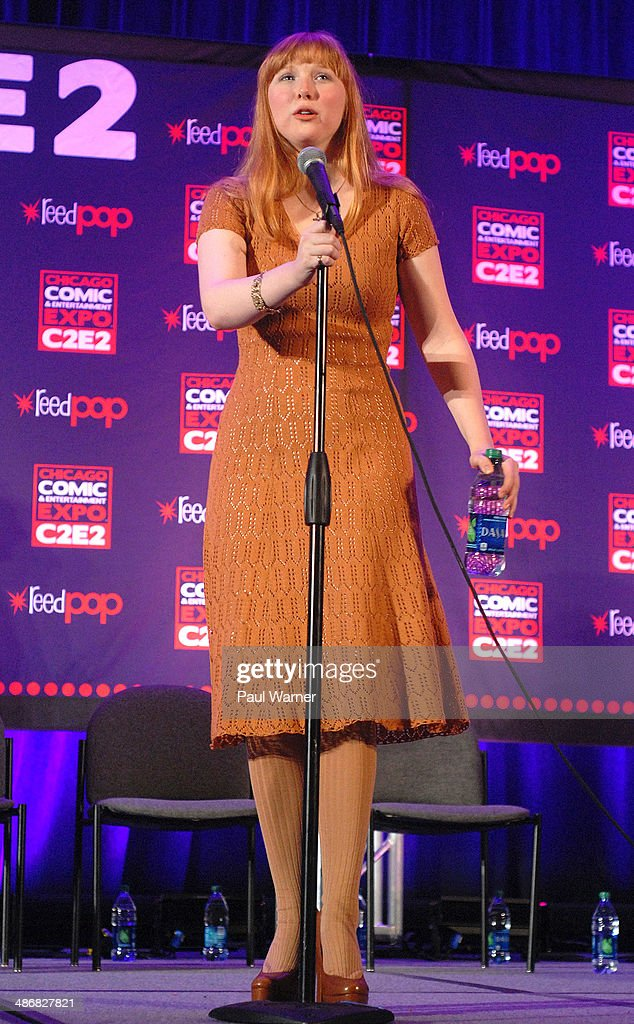 Molly Quinn attends the 2014 Chicago Comic and Entertainment Expo at McCormick Place on April 25, 2014 in Chicago, Illinois.