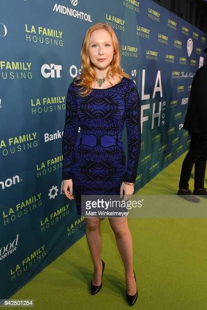 Molly Quinn attends the 2018 LA Family Housing Awards at The Lot in West Hollywood on April 5 2018 in West Hollywood California