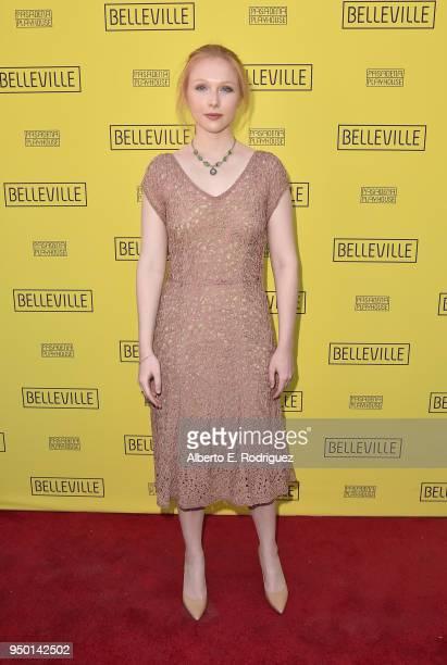 Molly Quinn attends the Pasadena Playhouse Presents Opening Night Of Belleville at Pasadena Playhouse on April 22 2018 in Pasadena California