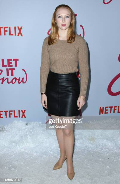 Molly Quinn attends the LA premiere of Netflix's Let It Snow at Pacific Theatres at The Grove on November 04 2019 in Los Angeles California
