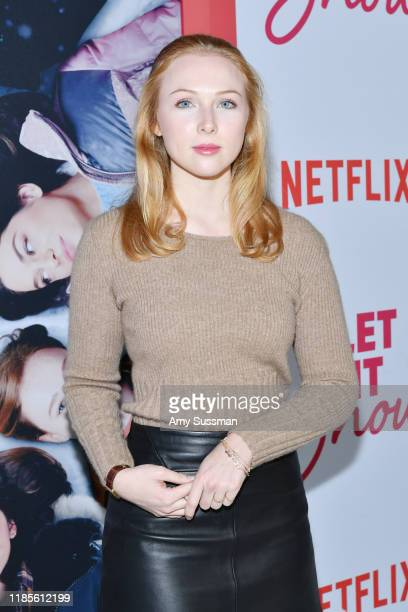 Molly Quinn attends the premiere of Netflix's Let It Snow at Pacific Theatres at The Grove on November 04 2019 in Los Angeles California