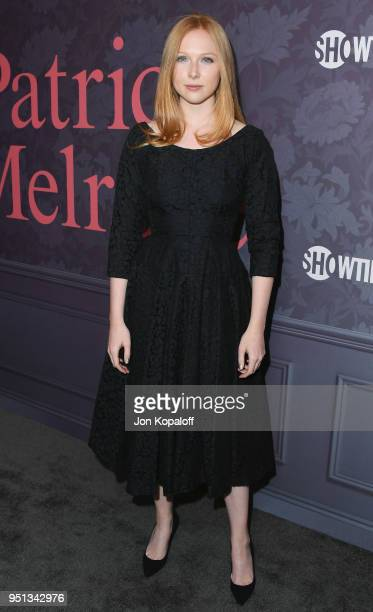 Molly Quinn attends the premiere of Showtime's Patrick Melrose at Linwood Dunn Theater on April 25 2018 in Los Angeles California