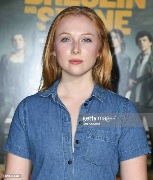 Molly Quinn attends the premiere of Sony Pictures' Zombieland Double Tap at Regency Village Theatre on October 10 2019 in Westwood California
