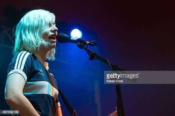 Molly Rankin of Alvvays performs at Electric Picnic on September 5 2015 in Stradbally Ireland