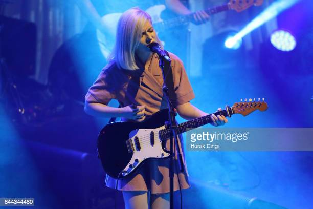 Molly Rankin of Alvvays performs at KOKO on September 8 2017 in London England