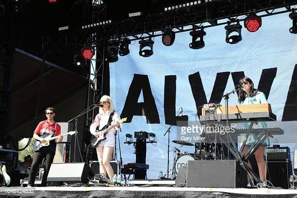 Molly Rankin of Alvvays performs in concert during the first day of ACL Festival at Zilker Park on October 5 2018 in Austin Texas