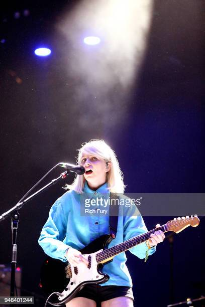 Molly Rankin of Alvvays performs onstage during 2018 Coachella Valley Music And Arts Festival Weekend 1 at the Empire Polo Field on April 14 2018 in...