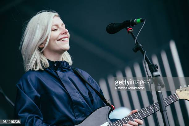 Molly Rankin of Alvvays performs onstage during day 3 of 2018 Boston Calling Music Festival at Harvard Athletic Complex on May 27 2018 in Boston...