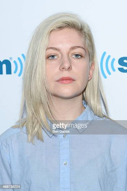 Molly Rankin of the band Alvvays visits at SiriusXM Studios on April 6 2015 in New York City